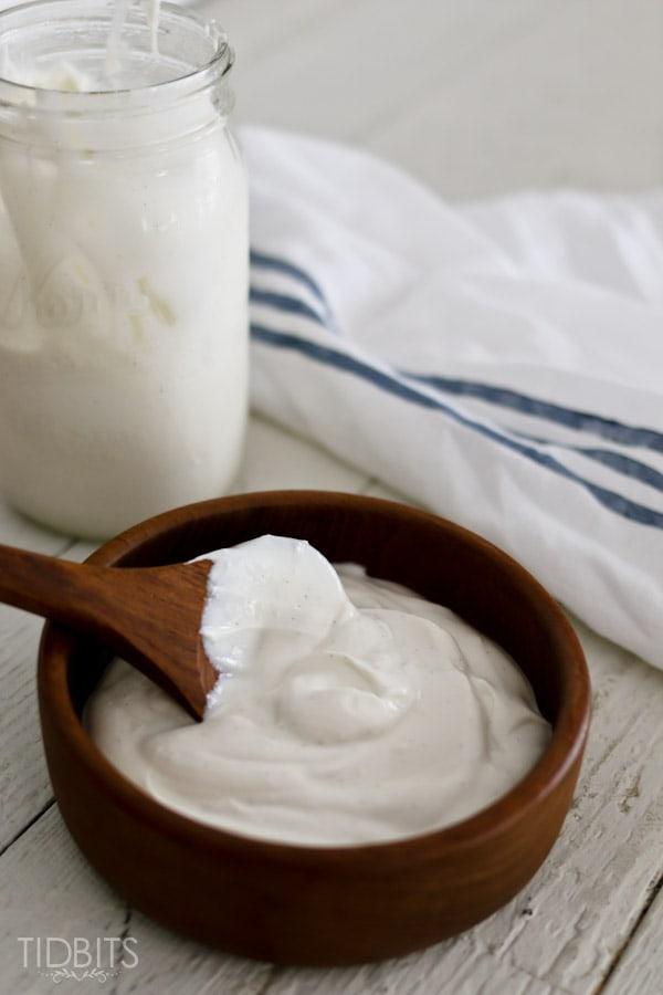 Homemade Yogurt in the Pressure Cooker
