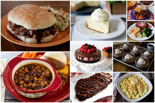 Summer is the perfect time to use your pressure cooker. Here's some of my favorite Memorial Day Pressure Cooker Recipes.