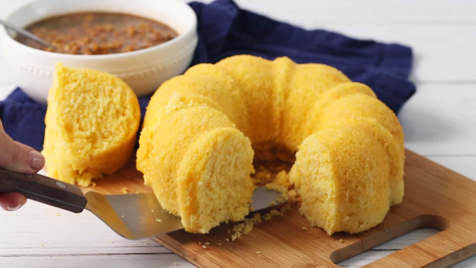 pressure cooker cornbread from the InstaPot or any electric pressure cooker