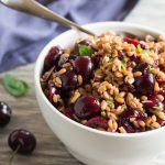 Pressure Cooker Farro and Cherry Salad