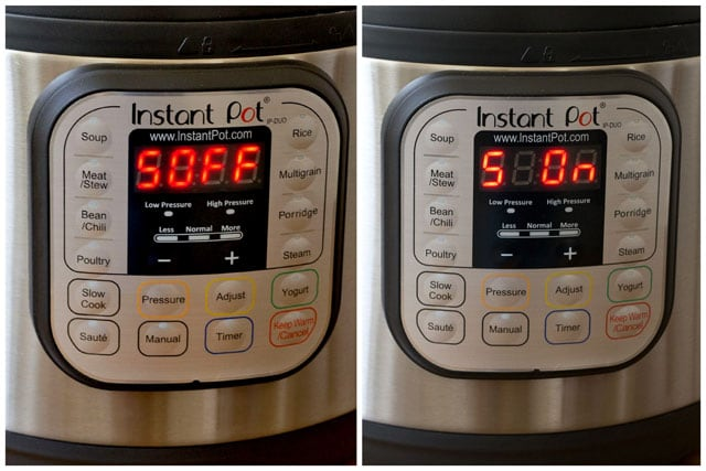 You can turn the beeping off and on on the Instant Pot Version 2 Duo.