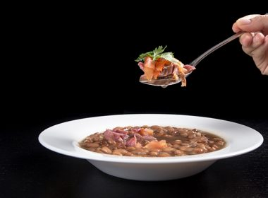 Pressure Cooker (Instant Pot) Smoky Ham Hock and Pinto Bean Soup