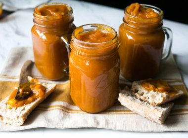Pressure Cooker (Instant Pot) Spiced Pumpkin Apple Butter