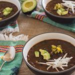 Pressure Cooker Spicy Black Beans and Hearty Greens