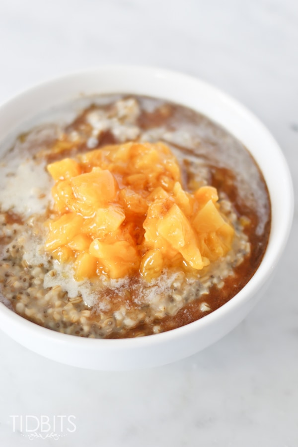 cooked Steel Cut Oats