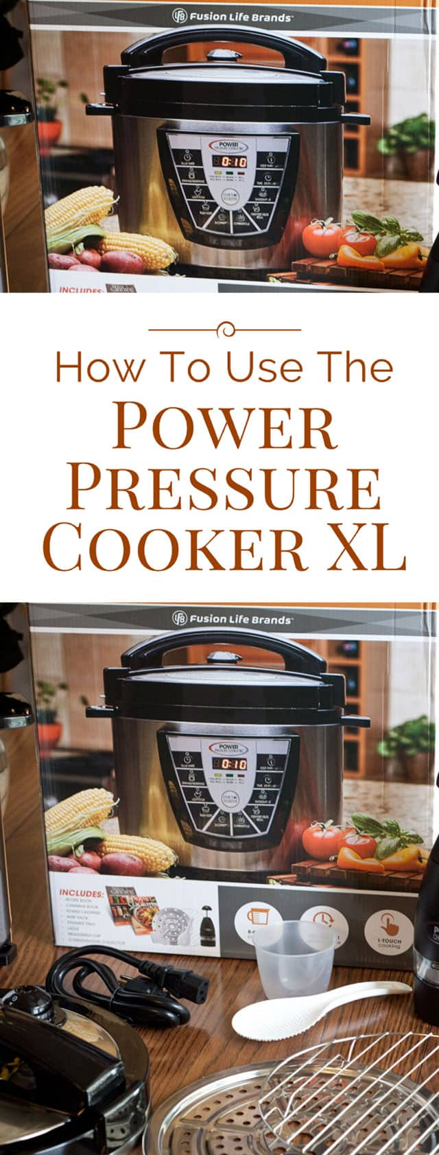 The Power Pressure Cooker XL is one of the best selling electric pressure cookers. Here's everything you need to know about how to use the Power Pressure Cooker XL
