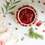 Pressure Cooker Cranberry Apple Sauce