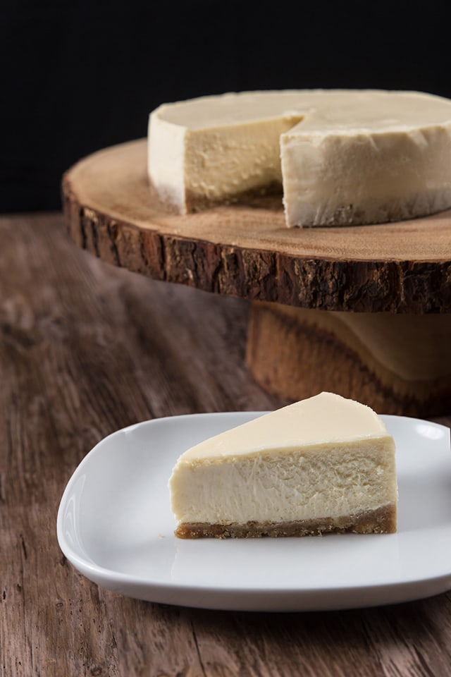 New York Cheesecake made in a pressure cooker