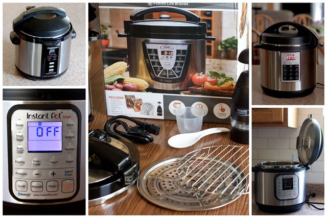 New Electric Pressure Cookers ~ Getting started how to use an electric pressure cooker