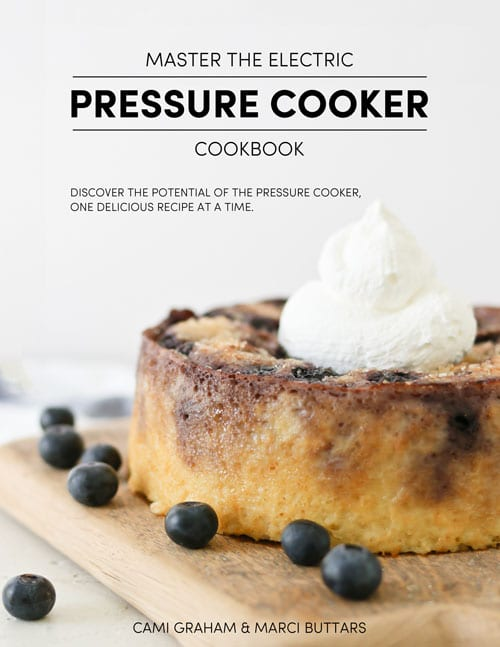 cookbook cover - Master the Electric Pressure Cooker