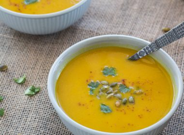 Pressure Cooker Curried Carrot Soup