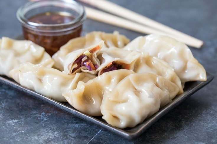 Pressure Cooker Asian Steamed Dumplings