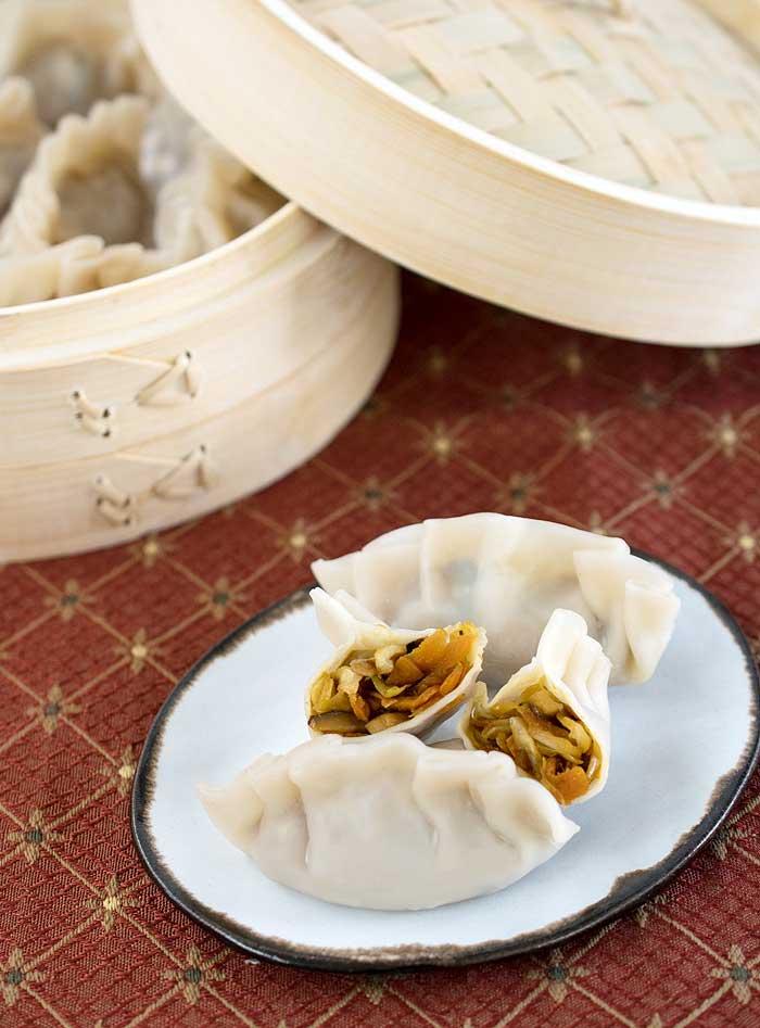 Pressure Cooker Asian Steamed Dumplings