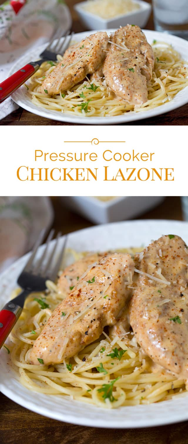 Pressure Cooker Instant Pot Chicken Lazone