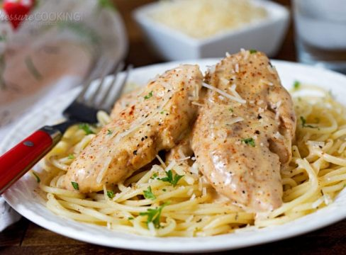 Pressure Cooker Chicken Lazone