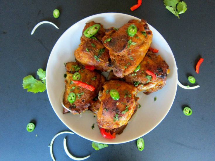 Pressure Cooker Tandoori Chicken