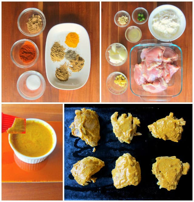 Pressure Cooker Instant Pot Tandoori Chicken Recipe