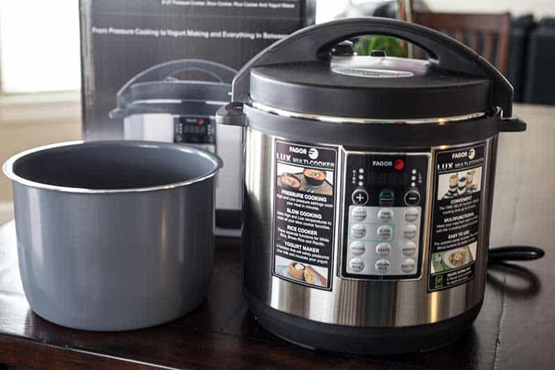 fagor multi cooker rice instructions