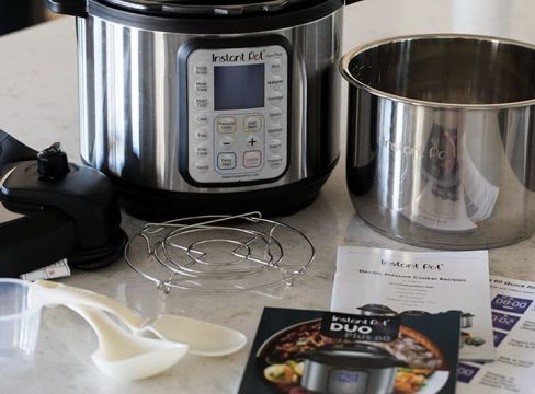 Instant-Pot-Duo-Plus-60-With-Accessories-and-New-Manual