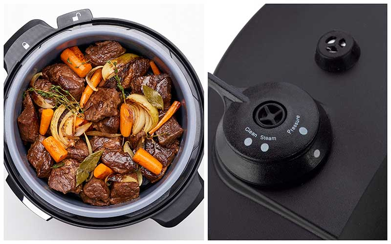 Top Rated Fagor LUX 8 Quart Multi-Cooker / Pressure Cooker Lid