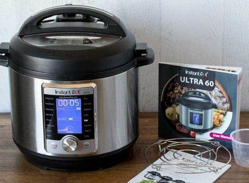 Instant Pot Ultra and Ultra 60 cookbook