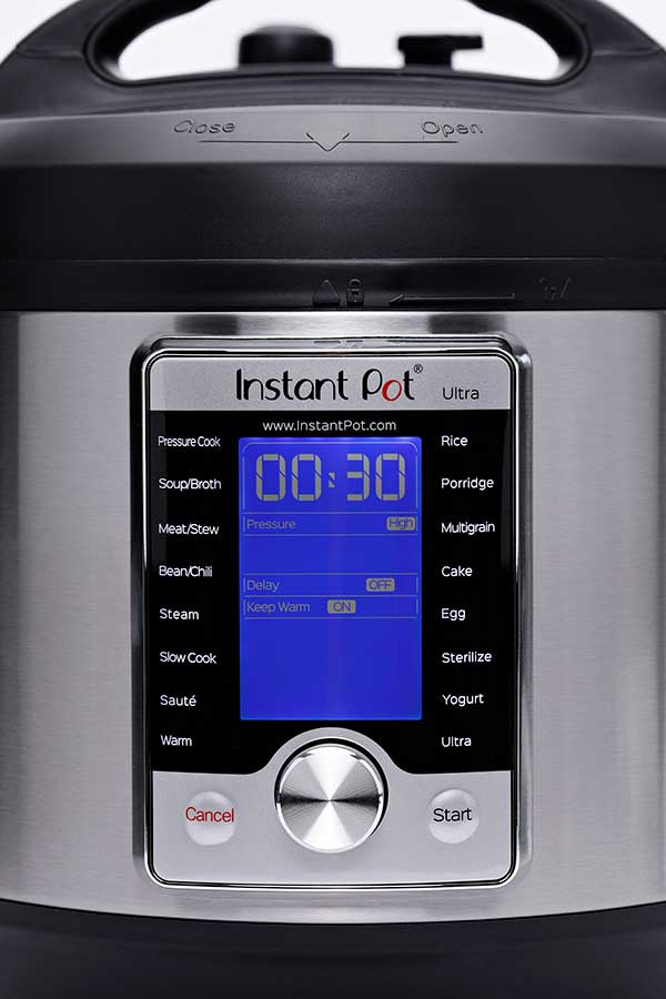 New Display and Dial on the Instant Pot Ultra