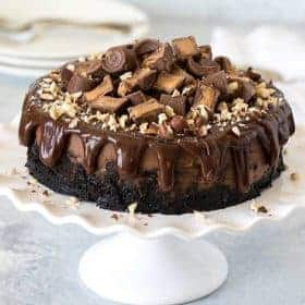 pressure cooker instant pot nutella rolo cheesecake