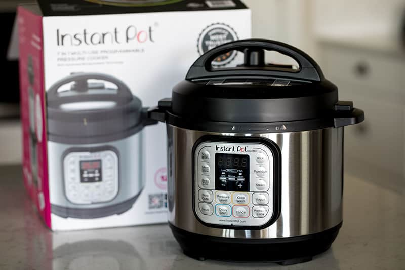 The Instant Pot Company recently released an adorable little 3 quart pressure cooker.