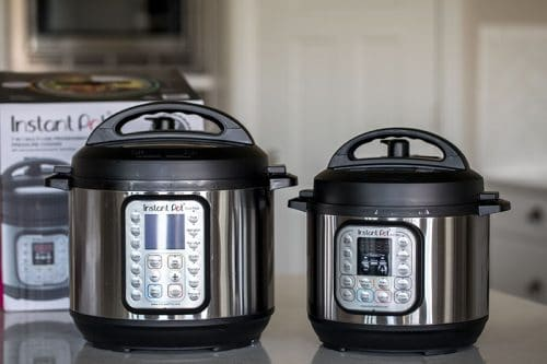 Instant Pot Mini Side by Side Comparison