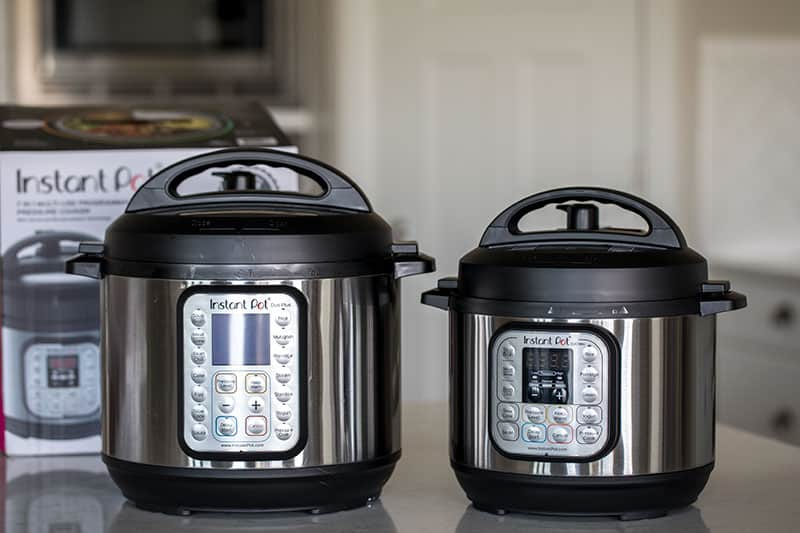 Instant Pot Duo Plus and Instant Pot Mini