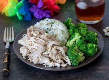 Pressure Cooker (Instant Pot) Kalua Chicken