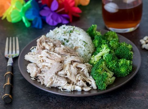 Pressure Cooker Kalua Chicken