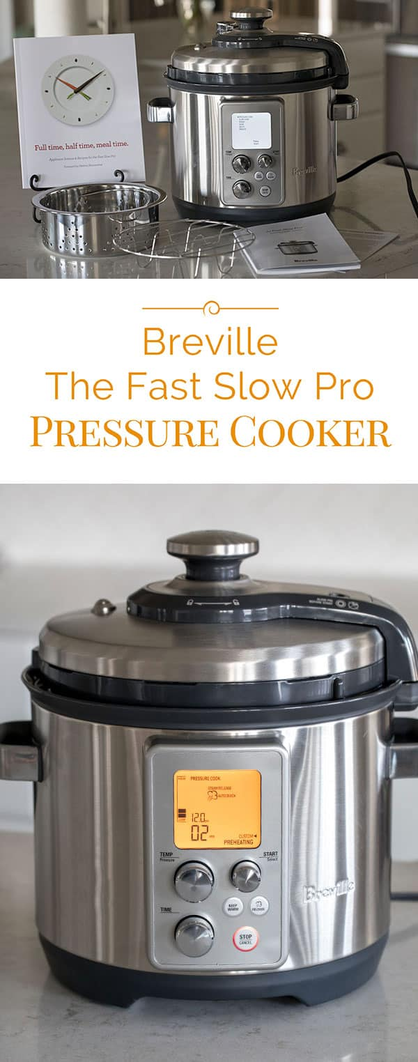 Breville The Fast Slow Pro Pressure Cooker / Multi Cooker is one of the more expensive electric pressure cookers on the market. It's a well built pressure cooker and has features that other pressure cookers don't have.