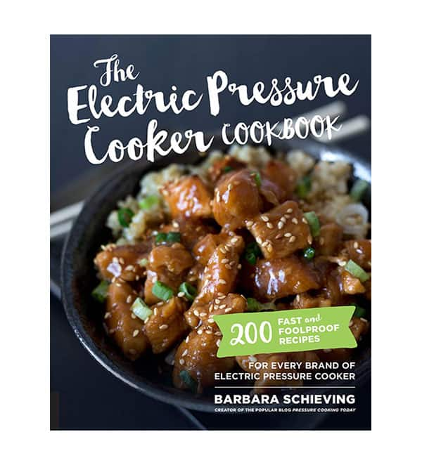 The Electric Pressure Cooker Cookbook Cover