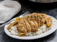 Pressure Cooker (Instant Pot) Artichoke Chicken