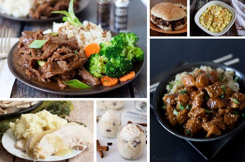 photos of some of the most popular recipes including beef, chicken, turkey