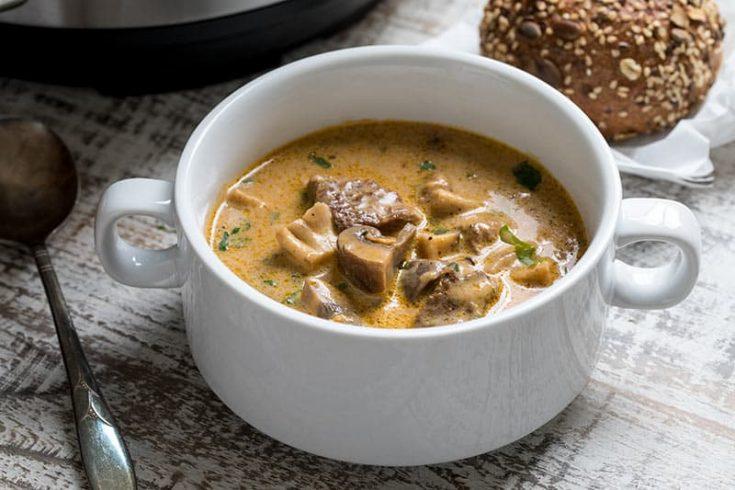 Deer Valley Beef Wild Mushroom Stew