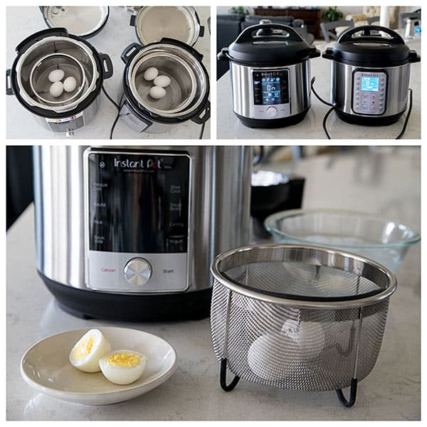 Cooking hard boiled eggs at Max Pressure in the Instant Pot Max