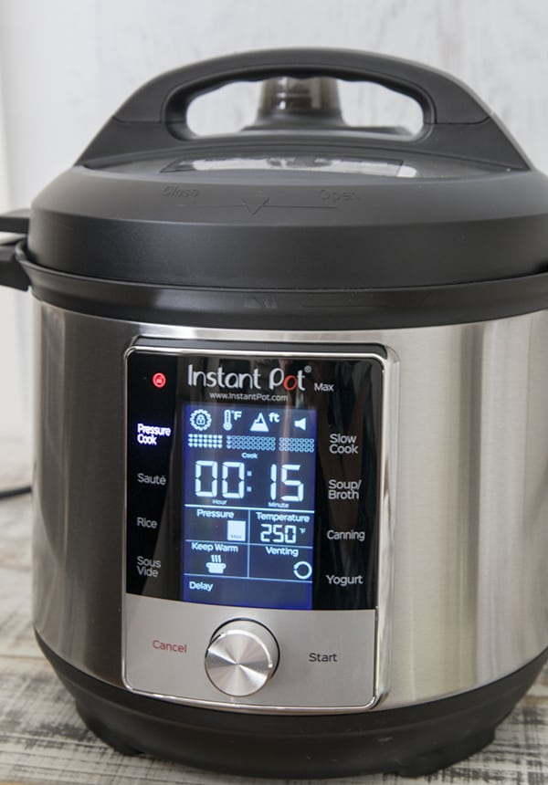 Automatic Pressure Release is one of the great new features on the Instant Pot Max.