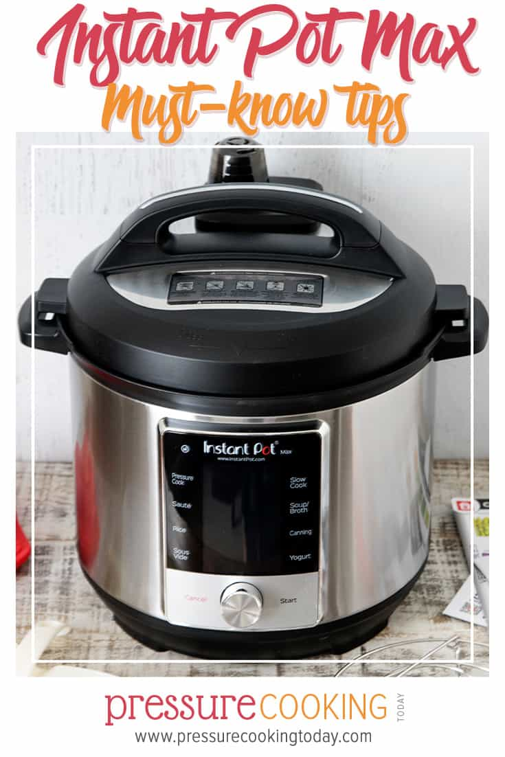 Instant Pot Max Pressure Cooker Review and What You Need to Know via @PressureCook2da