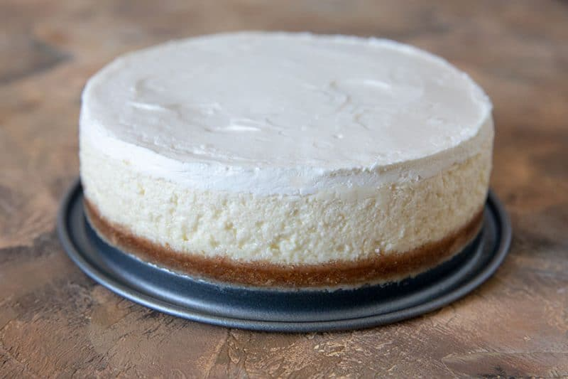 Pressure Cooker (Instant Pot) Hollywood Two-Tone Cheesecake