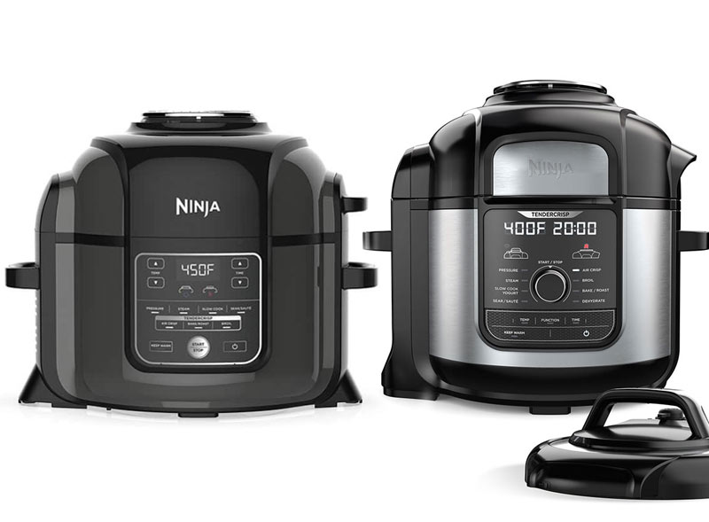 Ninja Foodi and Ninja Foodi Deluxe Pressure Cooker Reviews ...
