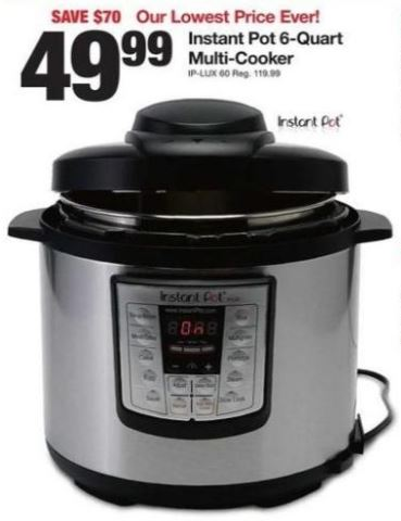 Fred Meyer Instant Pot Lux Black Friday Deal