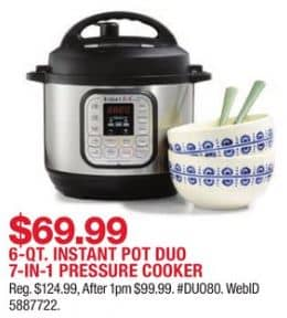 Macy's Instant Pot Duo Black Friday Deal