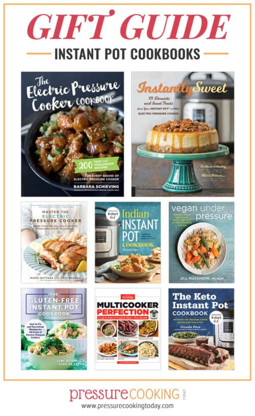The best pressure cooker / Instant Pot cookbooks