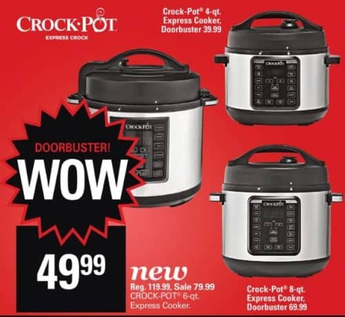 ShopKo Crock Pot Express Black Friday Deal