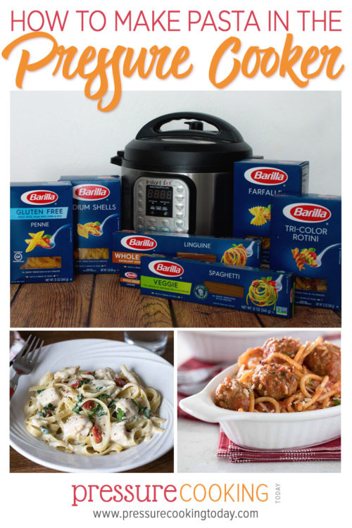 How to Make Pasta in the Instant Pot or Electric Pressure Cooker