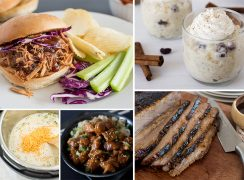 Most popular pressure cooker recipes from 2019, including, Instant Pot Pulled Pork, Instant Pot Rice Pudding, Instant Pot Broccoli Cheese Soup, Instant Pot Honey Sesame Chicken, and Instant Pot Beef Brisket.