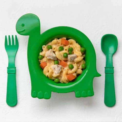 Macaroni and Cheese with Chicken and Vegetables from The Instant Pot Baby and Toddler Food Cookbook
