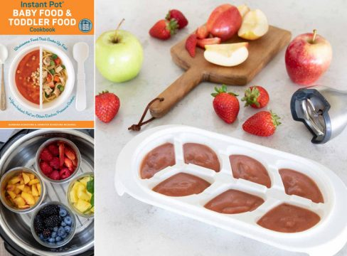 Collage Image for Baby Food and Toddler Food Cookbook